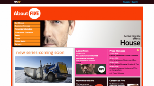 FIVE TV - Corporate Site